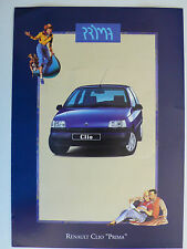 Prospetto RENAULT CLIO OTTIMO, 5.1993, 6 pagine, Folder