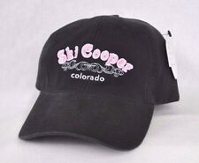 *SKI COOPER COLORADO* Ski Snowboard Fitted Stretch fit Ball cap hat OURAY sample