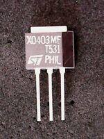 X0403MF - ST Microelectronics SCR 600V 4A X0403 (TO-202) GENUINE