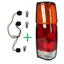 Coda posteriore luce Unità lampada per NISSAN NAVARA Pick-Up D21 D22 NERO LENTE O / S RH