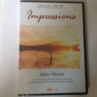 Impressions: Quiet Moods - 2 Disc Set DVD & CD - New & Sealed