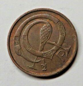 Ireland Republic 1/2 Penny 1971 Bronze KM#19 UNC