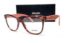 PRADA VPR 12T UE0-1O1 Pink Havana Demo Lens Women's Eyeglasses 53mm