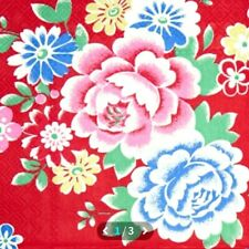 4 Paper Cath Kidston  Napkins for Decoupage-Norwich Flower Red