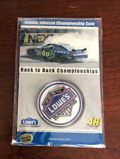 2007 Jimmie Johnson 2x Champion Lowes Racing Coin Cup Champ HMS Hendrick