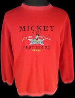 Mickey Mouse Unisex Sweatshirt Walt Disney 1990s Authentic Vtg Vintage Original