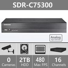 (Refurbished) SDR-C75300 - Samsung 16 Channel HD DVR for SDH-C75100 & SDH-C75080