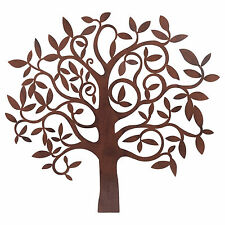 Large Metal Tree Wall Art Ornament for Home or Garden