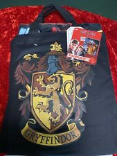 Harry Potter Gryffindor Silk Touch Throw Blanket And Canvas Tote Set New!