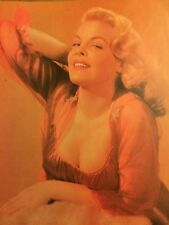 Cleo Moore, Full Page Vintage Pinup