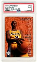 KOBE BRYANT 1996-97 Upper Deck Exclusives Rookie Card RC #R10 PSA 9 Mint Lakers