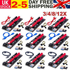 More details for 60cm ver009s pci-e riser card pcie 1x to 16x data cable bitcoin mining 3/4/8/12x