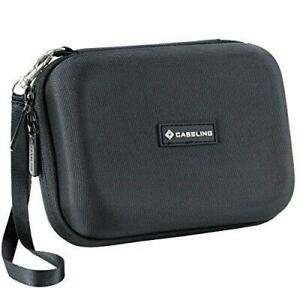 Caseling Hard Carrying GPS Case for up to 5-inch Screens. for Garmin Nuvi,