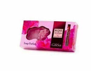 Biofresh, Rose of Bulgaria.  Gift set - Soap & Perfume 50 g + 2.1ml