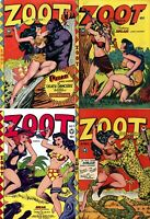 16 OLD ISSUES OF ZOOT COMICS RULAH THE JUNGLE GODDESS FANTASY SEXY COMICS ON DVD