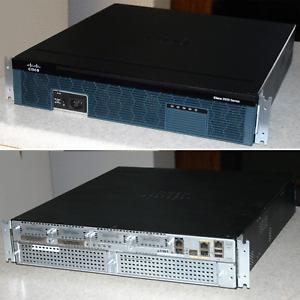 Cisco 2921 IRS Gigabit router, VPN, 3x Gigabit RJ45, securityk9 IOS