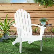 Wooden Outdoor Indoor Chair Multiple Color Comfortable Lawn Balcony Home Bright