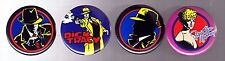 """Disney Movie """"Dick Tracy""""  Pin/Button - Set of 4"""