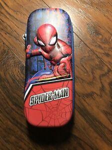 spiderman pencil case school