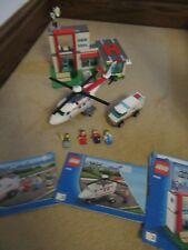 Lego City Helicóptero de Rescate (4429) 99% Completo Conjunto retirado