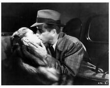 The Big Sleep 8x10 still kissing in car Humphrey Bogart & Lauren Bacall - d105