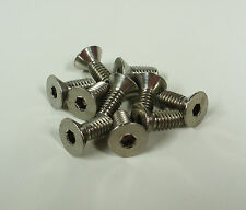 """8020 80/20 EQUIVALENT Stainless 1/4-20 x 5/8"""" FHCS 10 Series 3677 (10 pieces)"""