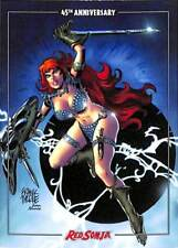 Red Sonja 45th Anniversary Dynamite   Base Card #1