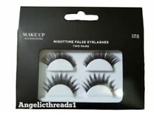 Make Up Night Time False Eyelashes For Ladies Two Pair Halloween Party Gift