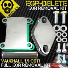 Saab 9-3 9-5 egr supprimer 1.9TiD Z19DTH 16V 150HP egr d'obturation egr removal kit
