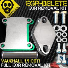 SAAB 9-3 9-5 EGR DELETE 1.9TiD Z19DTH 16V 150HP EGR Blanking EGR Removal kit