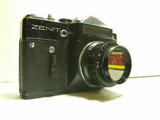 Zenit-EM camera USSR industar-50-2 3.5/50 with filter