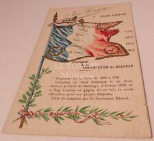Carte postale Mon drapeau 51ème Régiment d'Infanterie français WW1 14 18