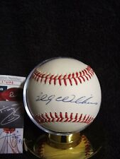 Billy Williams Autograph Baseball JSA With C.OA