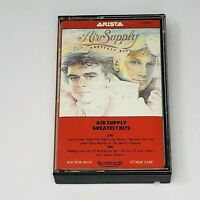 Air Supply Greatest Hits Cassette Tape