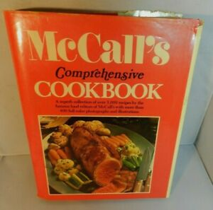 Vintage McCall's Comprehensive Cookbook by Food Editors of McCall's 1987