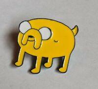 "Adventure Time ""Jake the Dog"" Hat Bag Lapel Pin Enamel Collectable Cartoon Badge"