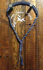 Hand made Turkey / Deer / Duck / Predator Call Paracord Lanyard (blue/camo)