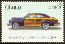 1948 Chrysler Town and Country voiture automobile mint stamp