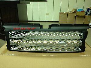MIT BLACK FRONT & SILVER MESH GRILLE FOR RANGE ROVER L320 SPORT MODEL 2006-2009