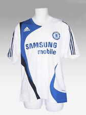 Adidas Chelsea Footballeur Publié Maillot D'entraînement Blanc