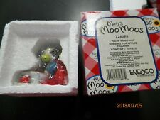 "Mary's Moo Moo's ""You're Moo Hero "" Bobbing for Apples Figurine #726028"