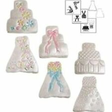 Mini Wedding Cake Cookie Cutter Texture Set #1050 - NEW
