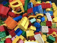 Duplo 1.5 KG Bundle Box of Bricks Blocks Vehicle Genuine Lego Job Lot 1500g