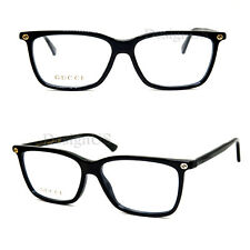 GUCCI GG0094O 006 Black 54/14/140 Eyeglasses Rx Made in Italy - New