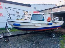 Fishing Boat Dejon 14 Ft Johnson 25HP Electric Start Outboard Fishfinder Radio