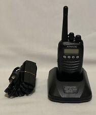 KENWOOD TK-3170-K UHF Radio 128 Channels 450-490 with ORIGINAL charger & battery