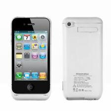 White Battery Cases for Apple Phones