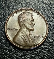 United States 1950 Lincoln wheat penny