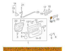 Chevrolet GM OEM 06-13 Impala Front Door-Lock Switch 10340139
