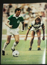 football cartel poster Franz Beckenbauer New York Cosmos 1977-80